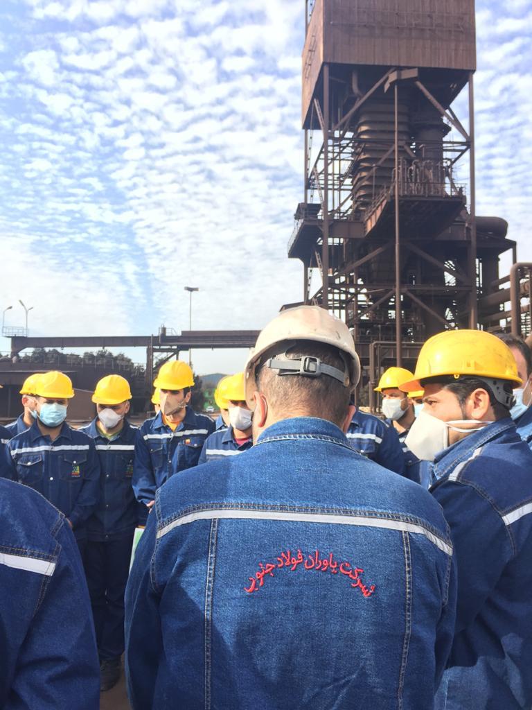 آغاز بکار قرارداد بهره برداری از کارخانه تولید بریکت سرد در واحد احیاء1